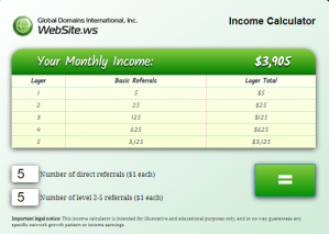 Income Calculator 1
